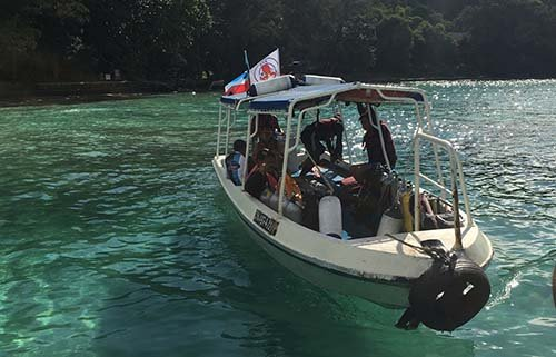 JSK Scuba Diving Boat